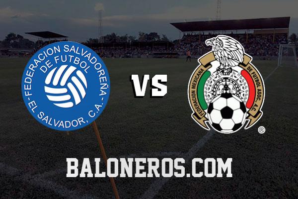 El Salvador vs México 2016