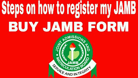 Steps on  how to register my 2019 jamb utme photo