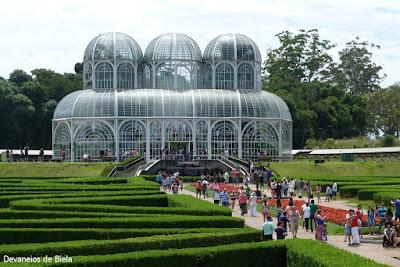 Jardim Botânico de Curitiba #MoradorTurista