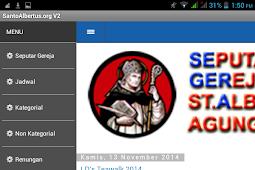 Panduan Instalasi Aplikasi Android SantoAlbertus.org