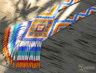 Купить изделия из бисера в интернет магазине. Гердан. Этнические украшения ручной работы купить.