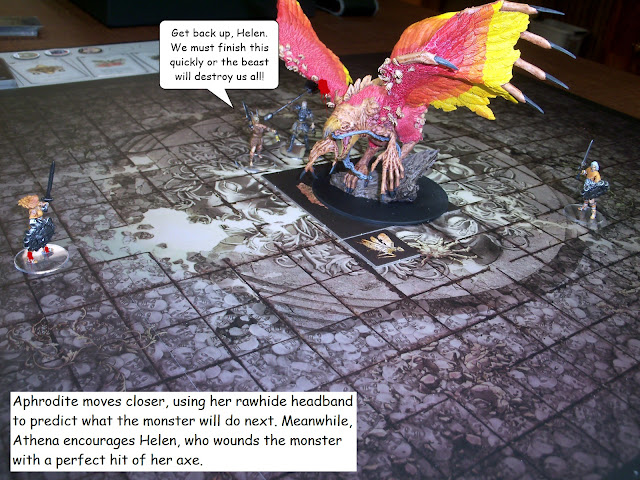 Kingdom Death Monster Phoenix Showdown