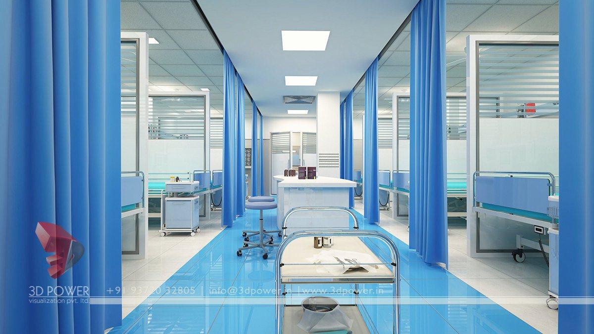 Modern Hospital Architecture Hospital Healthcare Design Hospital 3d Interior Design