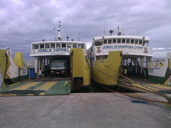 Jomalia Ships at Danao Pier