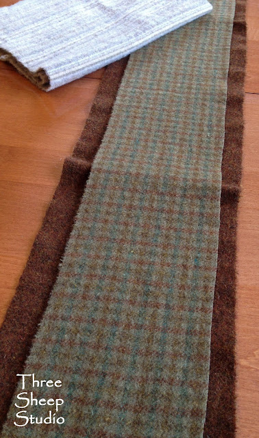 Wool For A Long Table Runner - ThreeSheepStudio.com