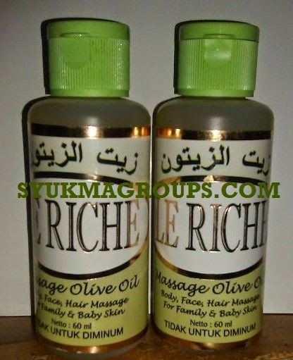 Le Riche Massage Olive Oil