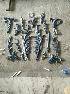 ornamen untuk besi tempa