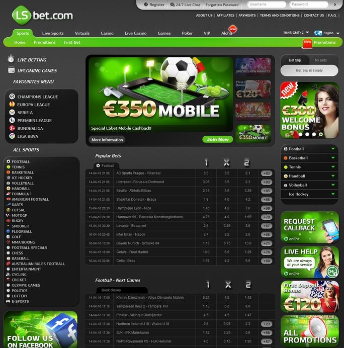 LSbet Screen