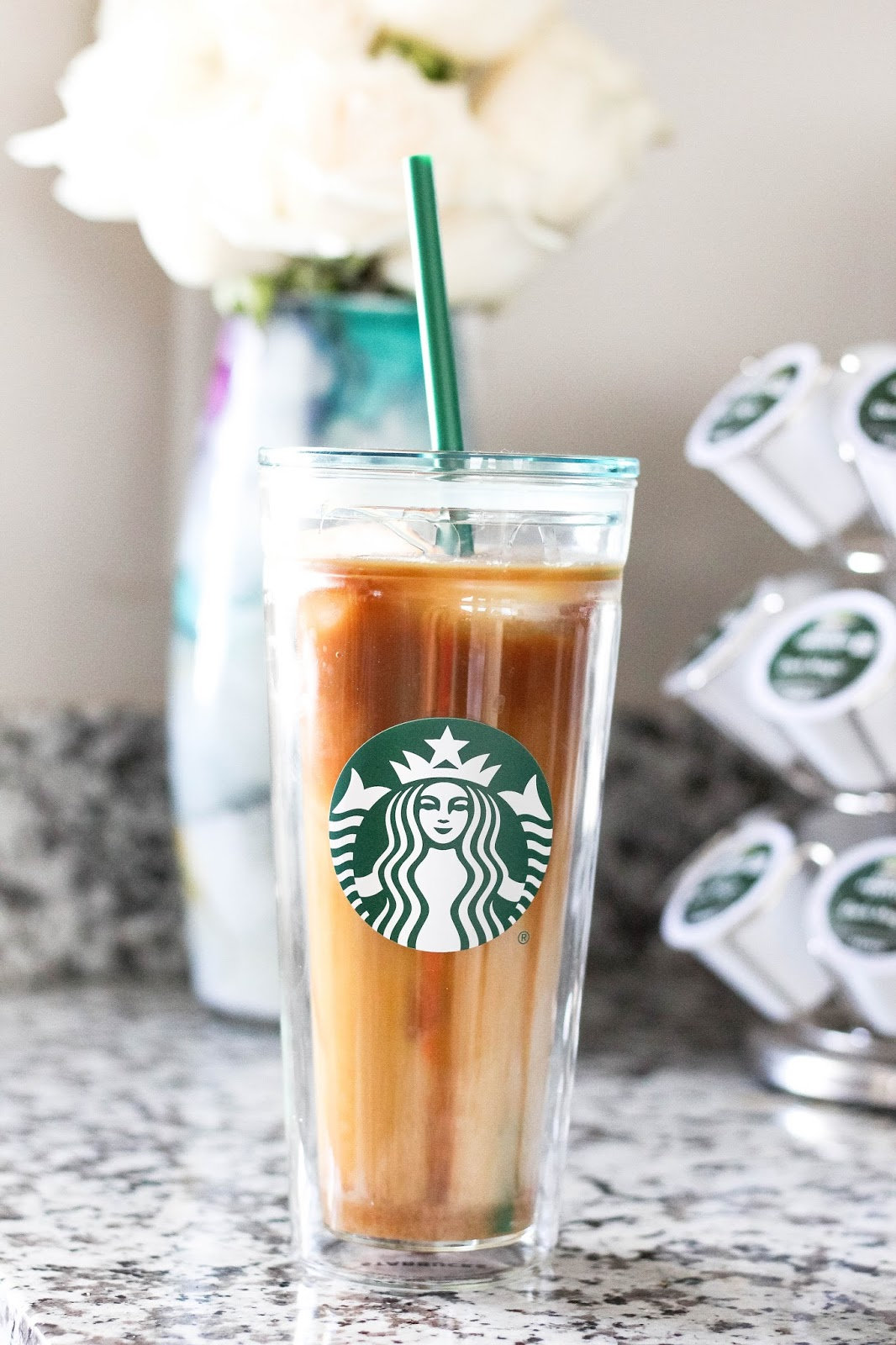 How To Make A Starbucks Iced Caramel Macchiato At Home Being Braylea