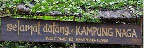 Papan Kampung Naga Tasikmalaya