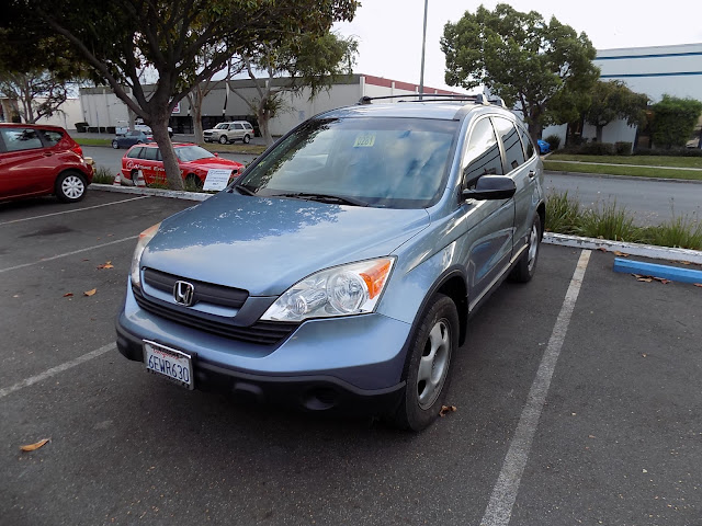 Honda CR-V after auto body repairs at Almost Everything Auto Body.