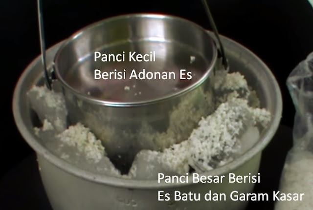 Cara membuat Es Puter Tanpa Mesin, Resep Es Puter Tanpa Mesin