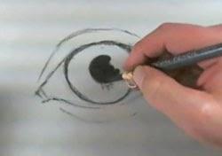 Göz resmi çizim teknikleri -2