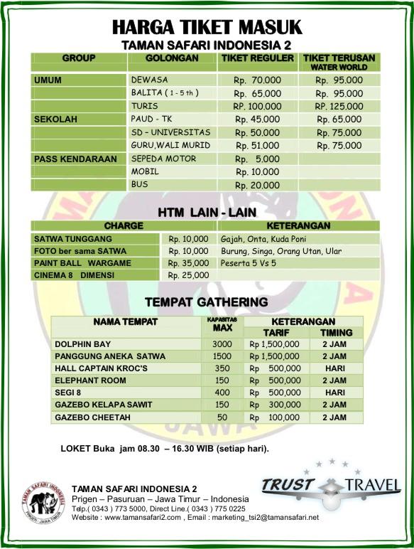 Paket Wisata Taman Safari Wisata Belitung