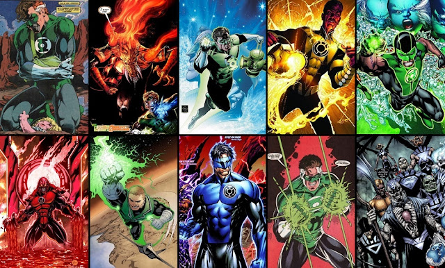 Mejores cómics e historias de Green Lantern
