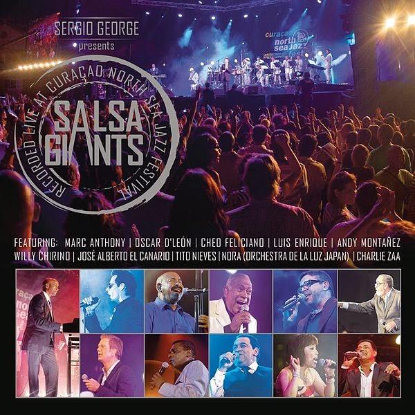 SALSA GIANTS LIVE - SERGIO GEORGE (2013)