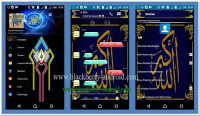 BBM Mod Tema Kaligrafi Islam New V.2.12.0.11 Apk