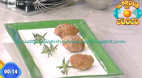 Polpette con maionese di yogurt ricetta Salvatori da Prova del Cuoco