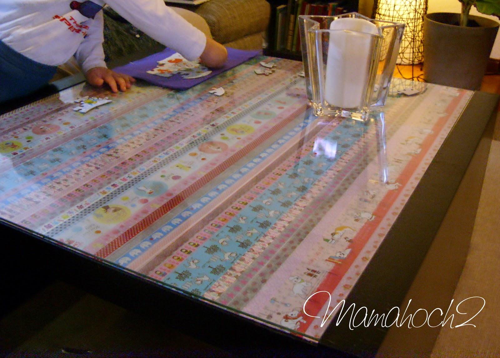 m bel upcycling masking tape ideen 1 der tisch mamahoch2. Black Bedroom Furniture Sets. Home Design Ideas