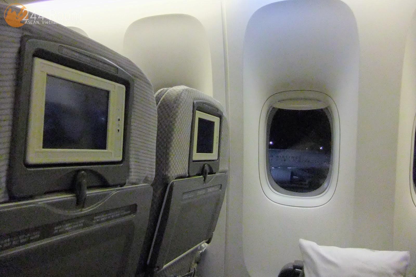 JAL Flight 002 seat 座席