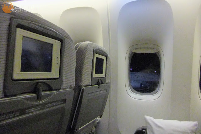 JAL Flight 002 seat 座席