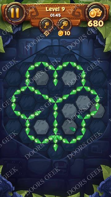 Gems & Magic [Indigo] Level 9 Solution, Walkthrough, Cheats