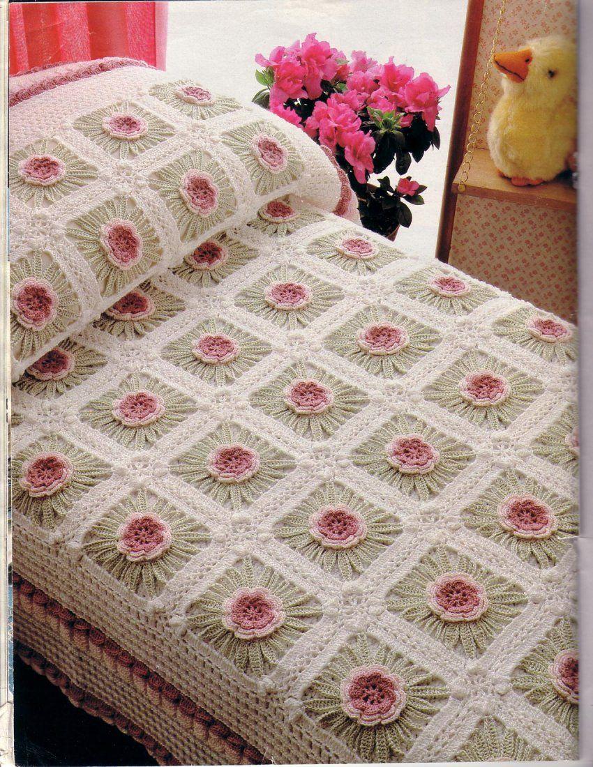Colcha A Crochet Sofa Para Perro