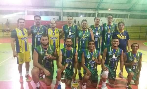 Festival de Voleibol do Interior: Jaguaribe é campeão no Adulto Masculino