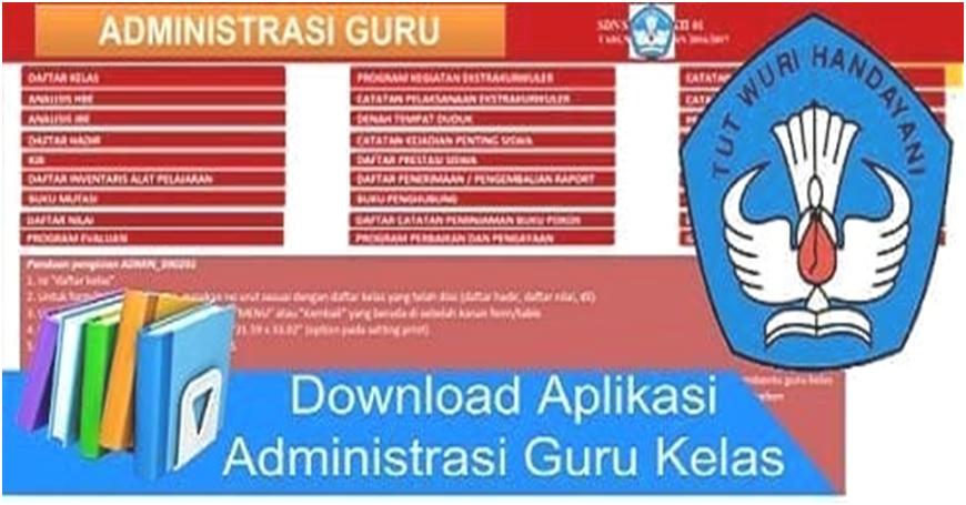 Aplikasi Administrasi Guru Kelas Untuk Sd Ops Sekolah Dasar