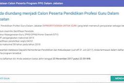 Inilah Cara Melakukan Pendaftaran Calon Peserta PPG Dalam Jabatan Melalui Aplikasi Sim PKB