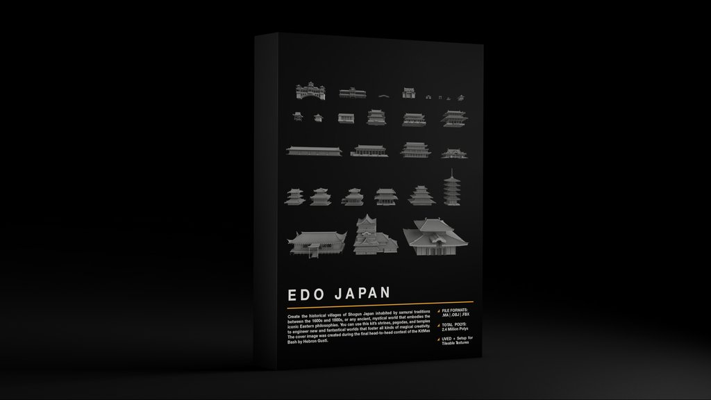 Kitbash3D Edo Japan - RiMaGFX