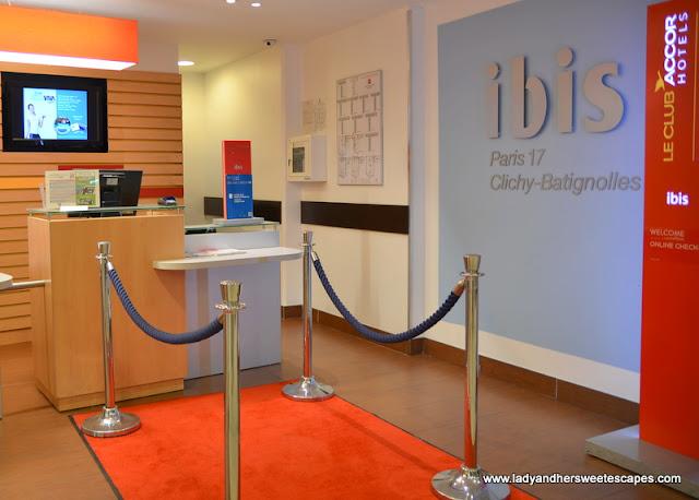 clean and sleek budget hotel in Paris