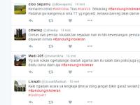 #BandungIntoleran Jadi Trending, Ada Apa?