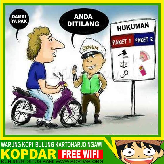 "Cerita Lucu Bahasa Jawa ""BOY vs POLISI"""