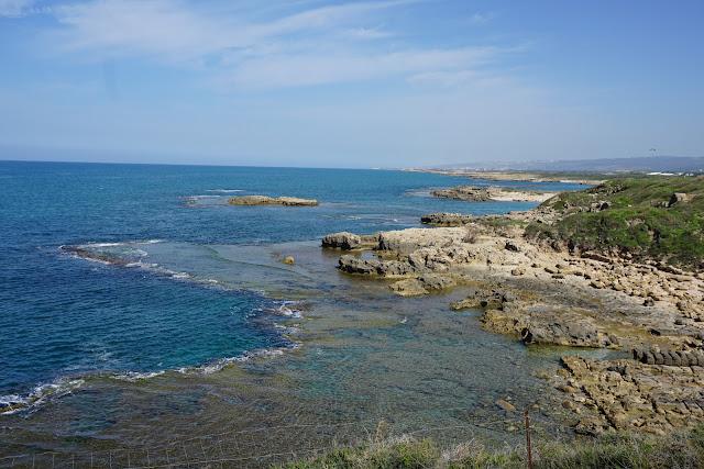 המפרץ בשמורת תל דור