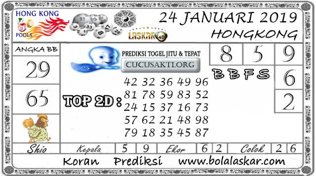 Prediksi Togel HONGKONG LASKAR4D 24 JANUARI 2019
