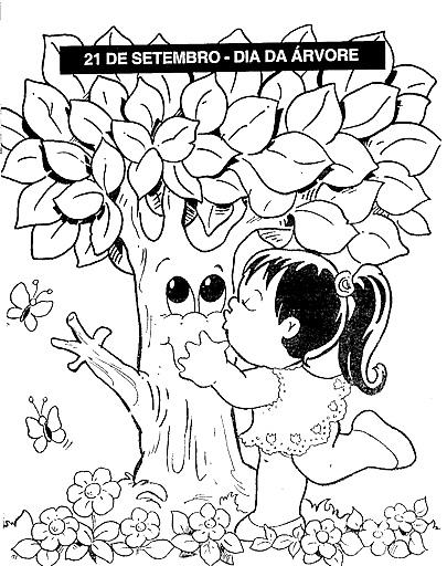 Desenhos Dia Da Arvore Para Colorir Desenhos Para Colorir