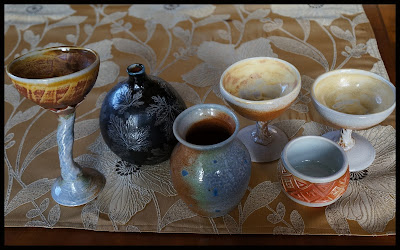 Soda fired handmade pottery by Lily L.