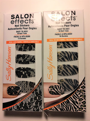 Sally Hansen Salon Effects Nail Stickers lacey does it faux real