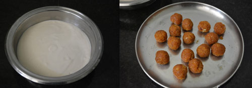 Suiyam/sugiyam with coconut jaggery filling