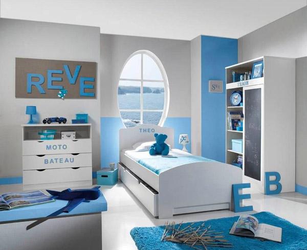 Id es d coration chambre gar on - Decoration chambre petit garcon ...