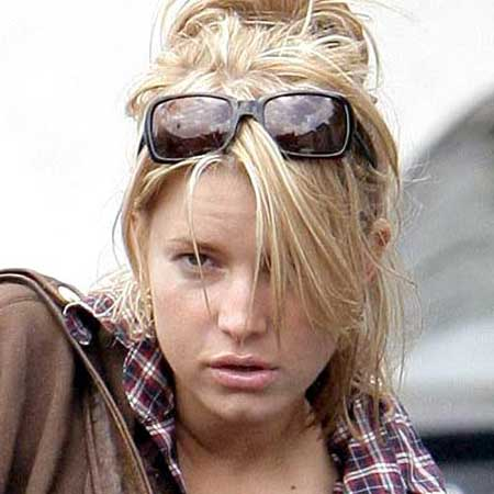 Jessica Simpson cochina