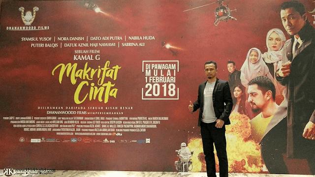 Pelancaran Trailer Filem Makrifat Cinta, IRDKL Mall Shah Alam,