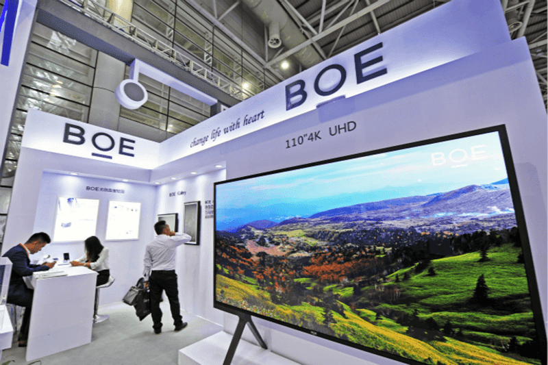BOE beats LG as the largest LCD TV and monitor panel manufacturer in the world
