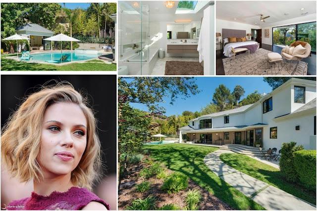 Scarlett Johansson's House In Los Angeles