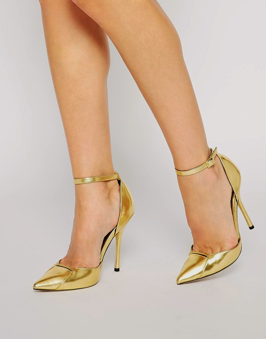 Asos peace of mind pointed high heels