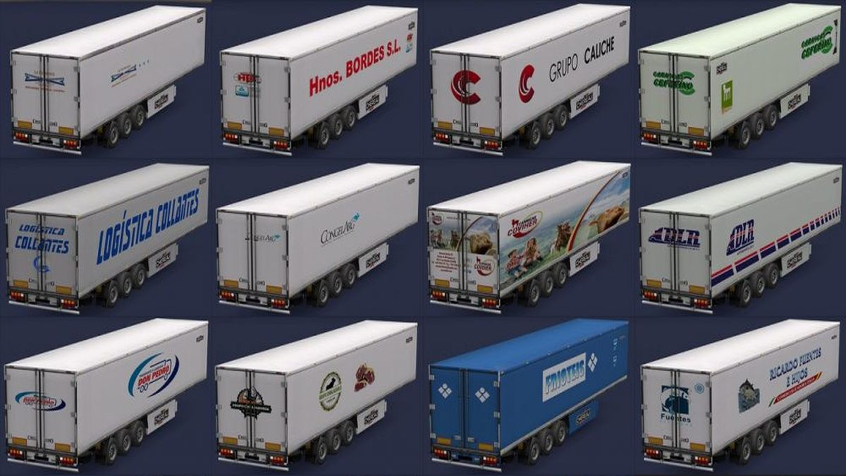 Food Companies in Chereau Trailers