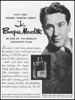 Burgess Meredith for Aqua Velva After-Shave Club