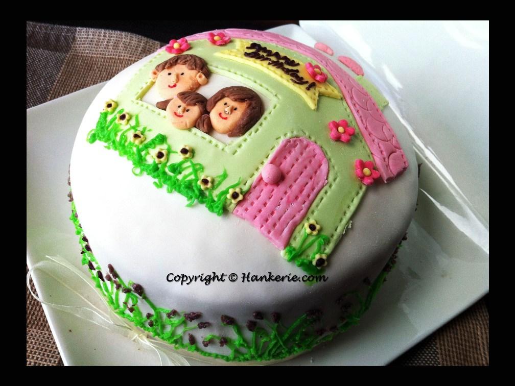 Happy Family Birthday Cake Hankerie