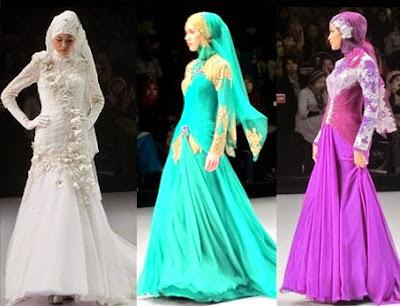 Model Baju Muslim Gamis Syahrini Terbaru